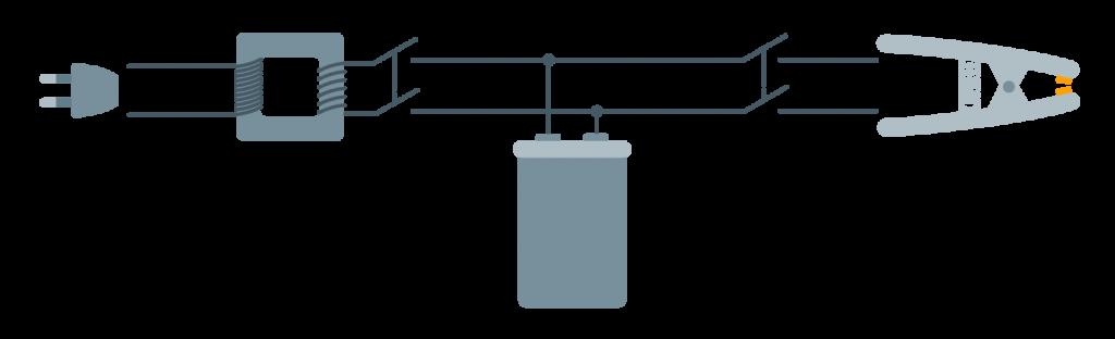 Principio di funzionamento della saldatrice intraorale